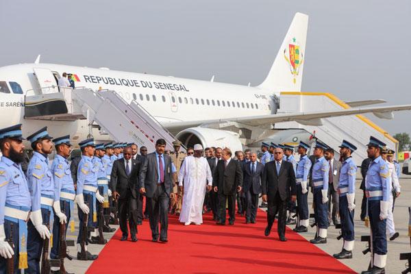 Visite officielle : Le Président Macky Sall est arrivé ce matin à Islamabad au Pakistan (Images)
