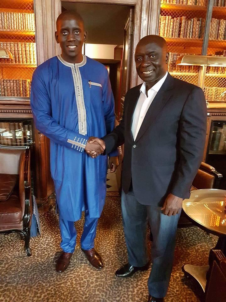 Rencontre à Paris: Idrissa Seck et le Dr Alboury Ndiaye discutent de «la forte hausse du chômage des jeunes»
