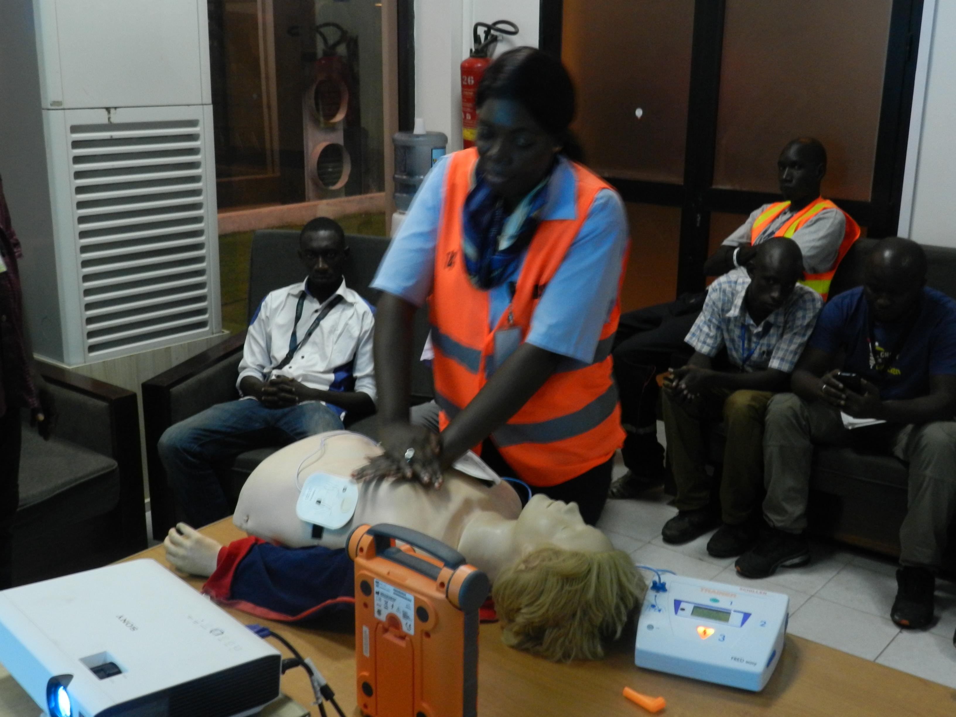 Renforcement du dispositif médical de l'Aéroport de Dakar