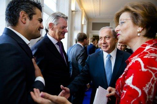 Un député néerlandais refuse de serrer la main de Netanyahu
