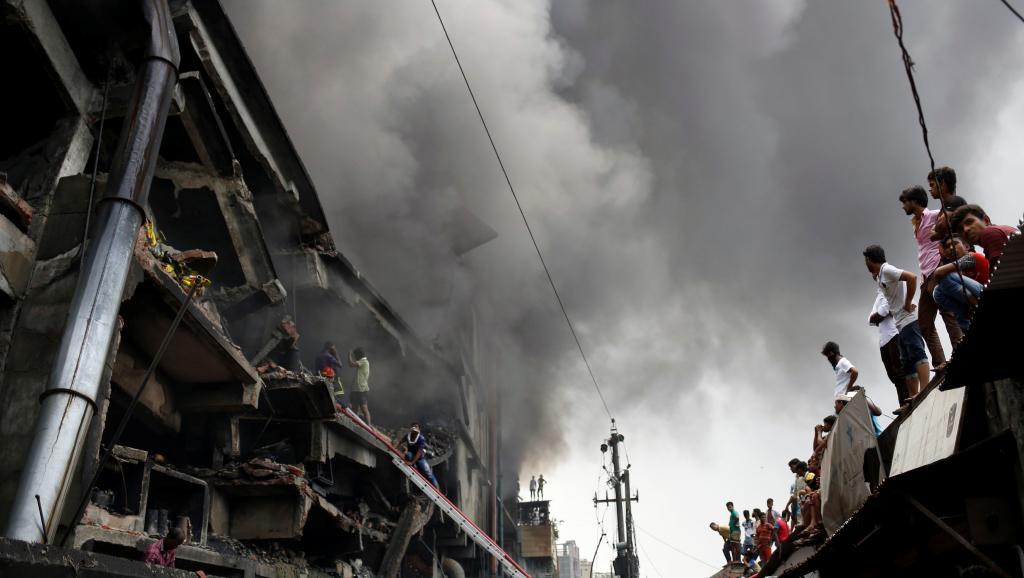 Bangladesh: un incendie dans une usine fait au moins 25 morts