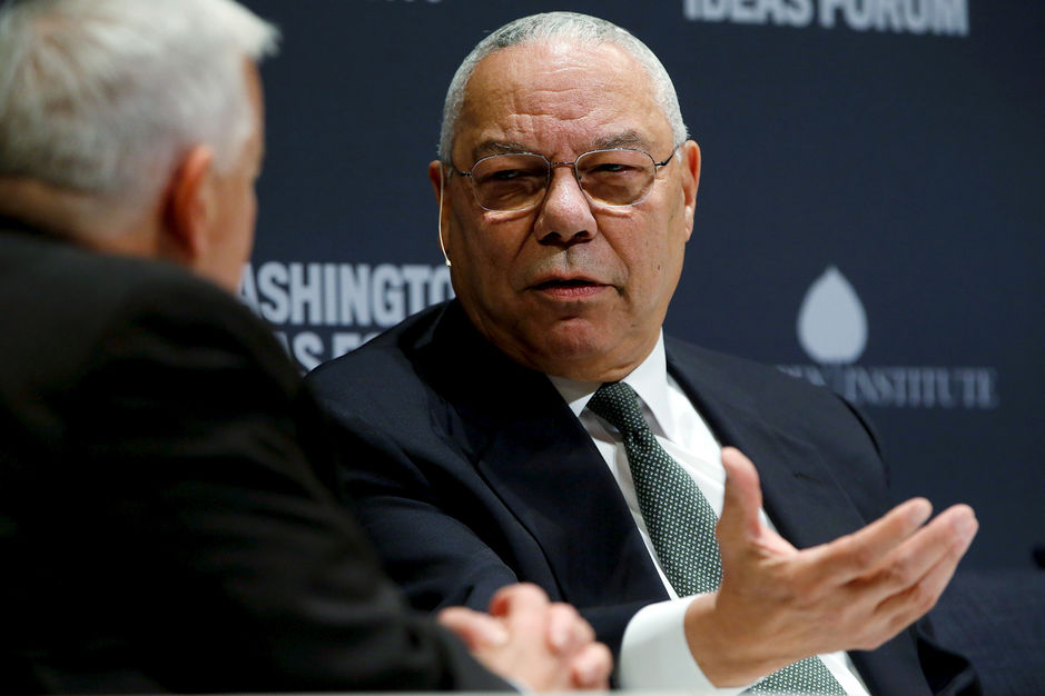 """Pour Colin Powell, Donald Trump est une """"honte nationale"""""""