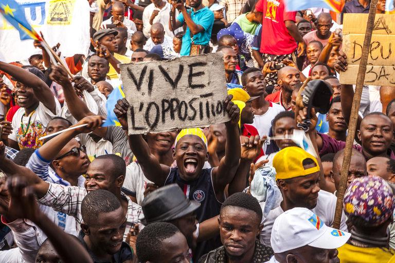 RDC : heurts à Kinshasa entre manifestants d'opposition et policiers