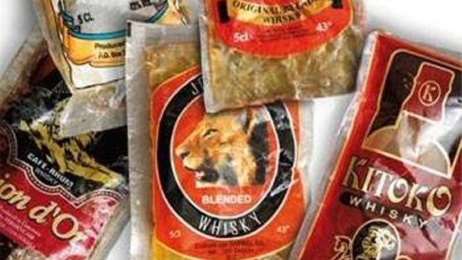 Cameroun : whisky en sachet interdit