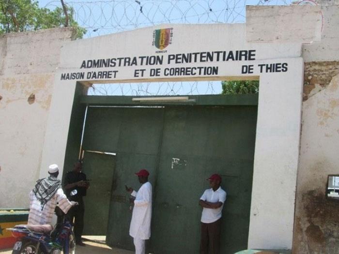 Tension à la MAC de Thiès: les visites suspendues, une dizaine de détenus transférés