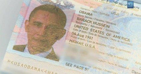 Le passeport de Michelle Obama publié par des hackers ?