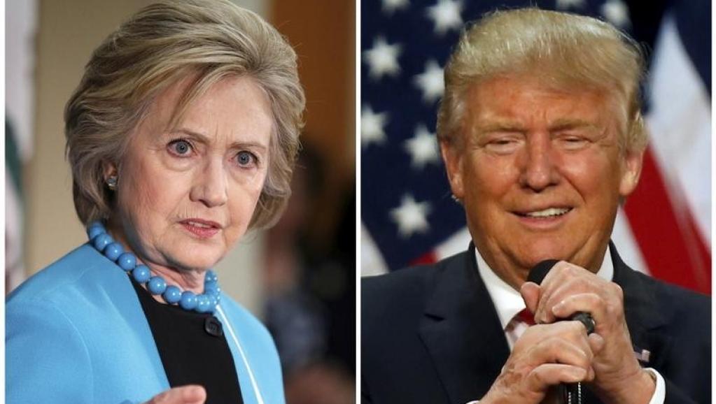 Clinton-Trump: deux camps sous pression à quelques heures du face-à-face