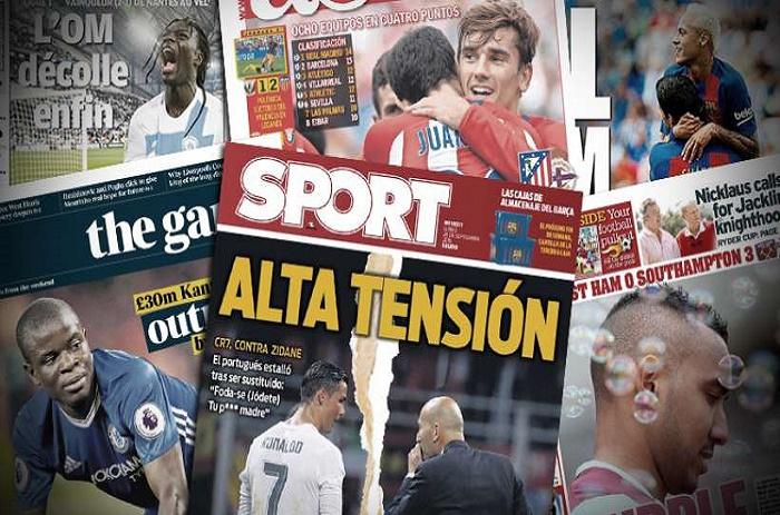 Les insultes de Cristiano Ronaldo, N'Golo Kanté tourné en ridicule