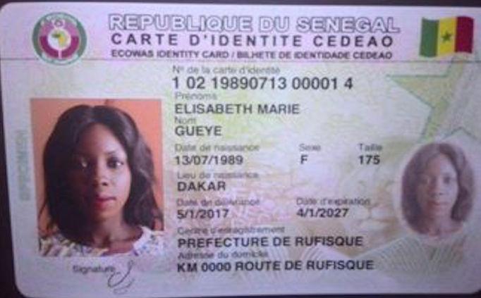Cartes d'identité numérisées : Lancement le 04 octobre (Officiel)