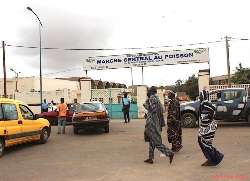 Grogne au marché central au poisson: des délégués convoqués à la Police de Pikine