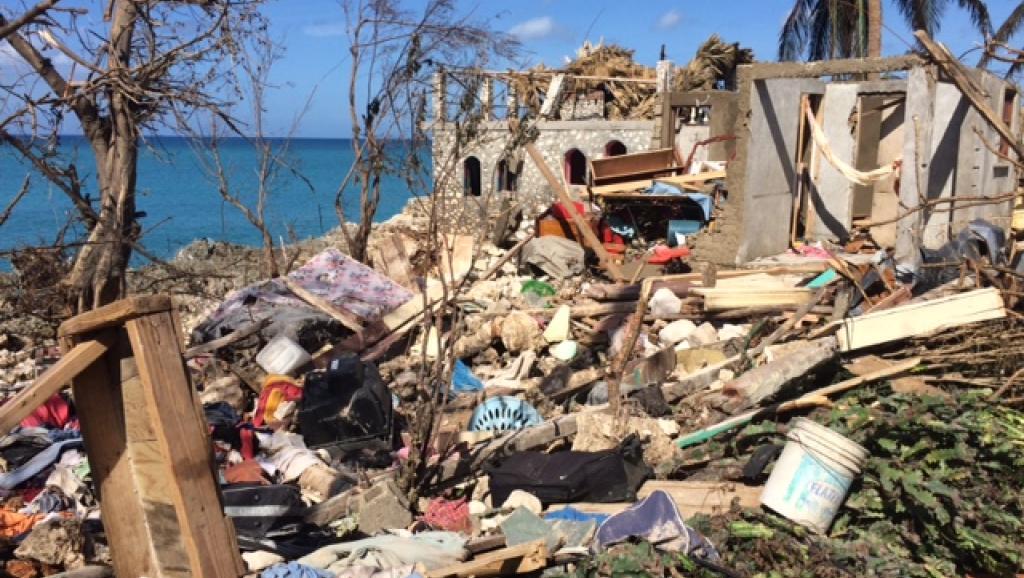 Ouragan Matthew: à Oranger, des Haïtiens traumatisés errent sans rien