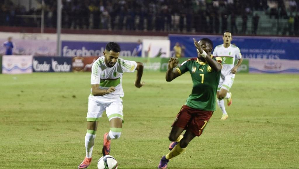 Mondial 2018: l'Algérie se casse les dents sur le Cameroun