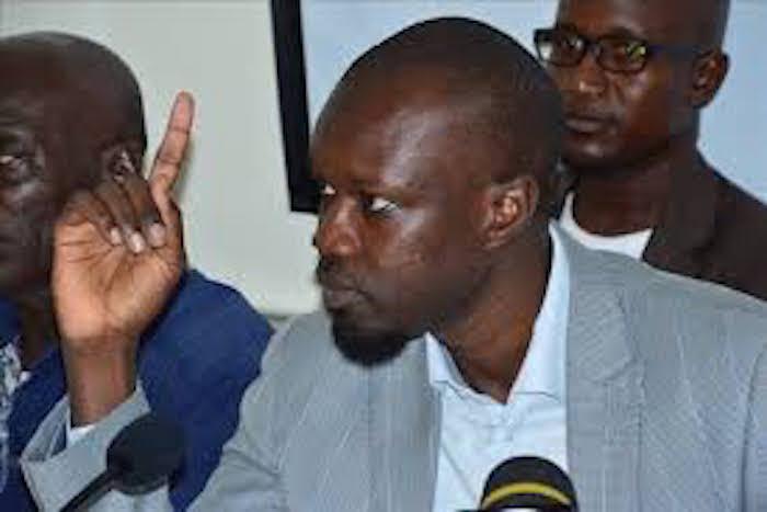Ousmane Sonko snobe la plainte de Franck Timis: «Cela ne sort pas Aliou Sall dans la gestion du pétrole»