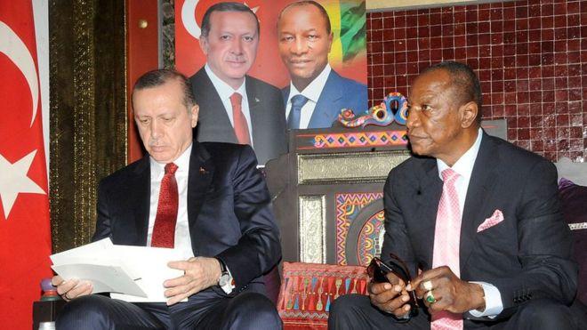 La Guinée victime du putsch en Turquie