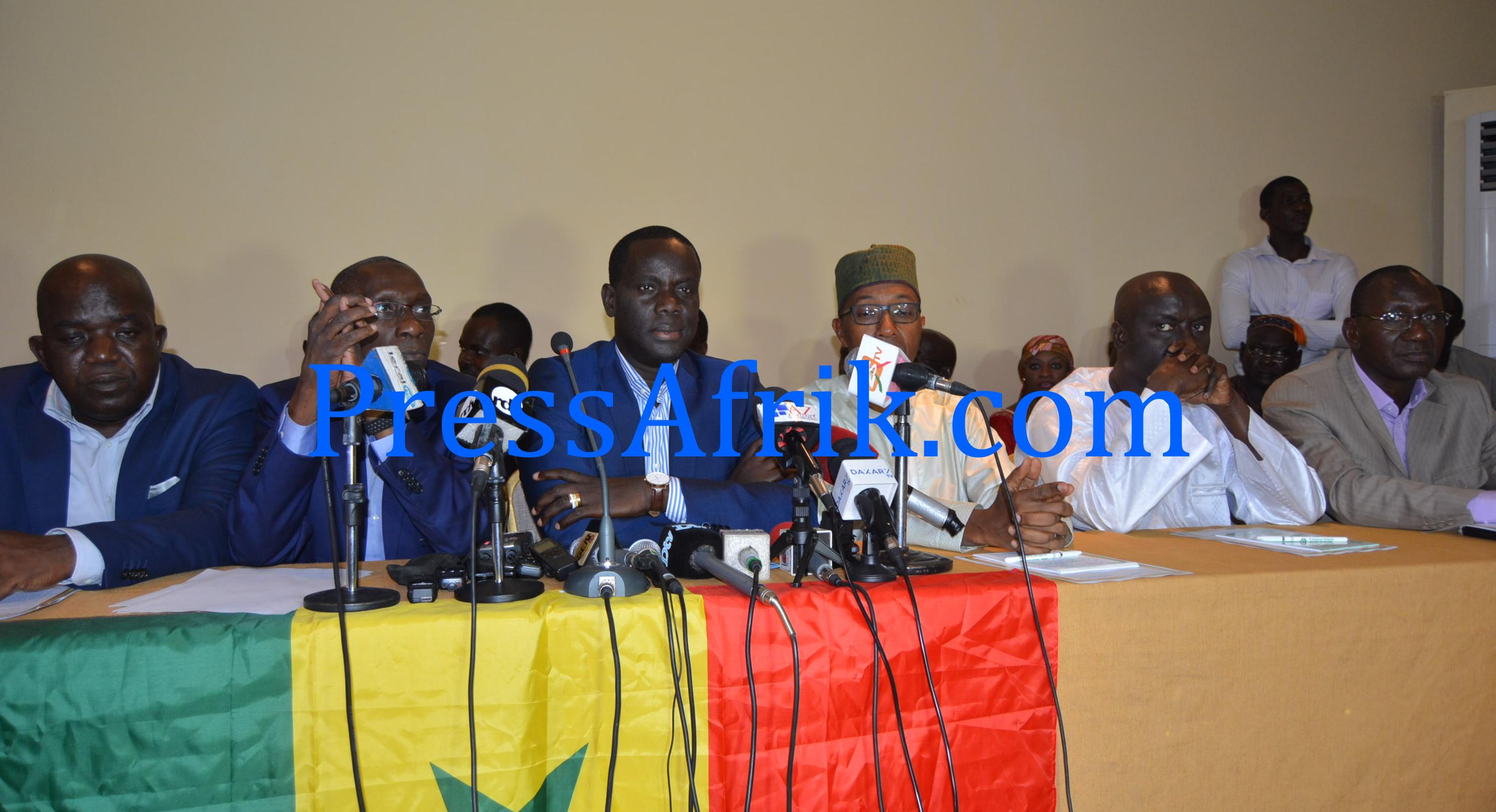 Dernière minute - Désaccords sur l'itinéraire: l'arrêté de Me Ousmane Ngom menace la marche de l'opposition