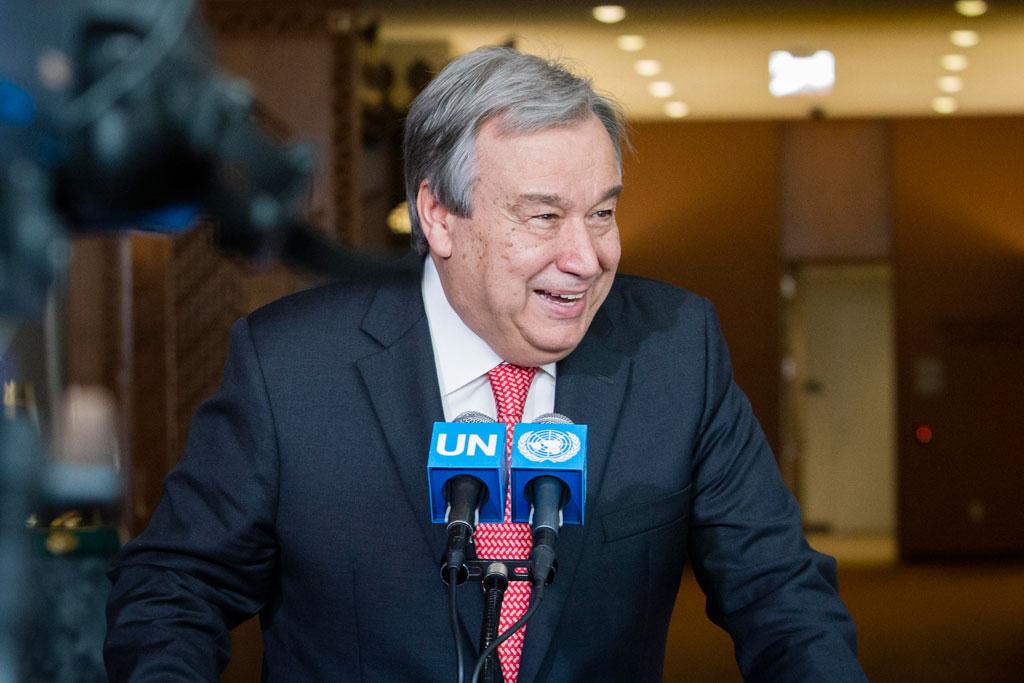 L'Assemblée générale confirme António Guterres au poste de Secrétaire général