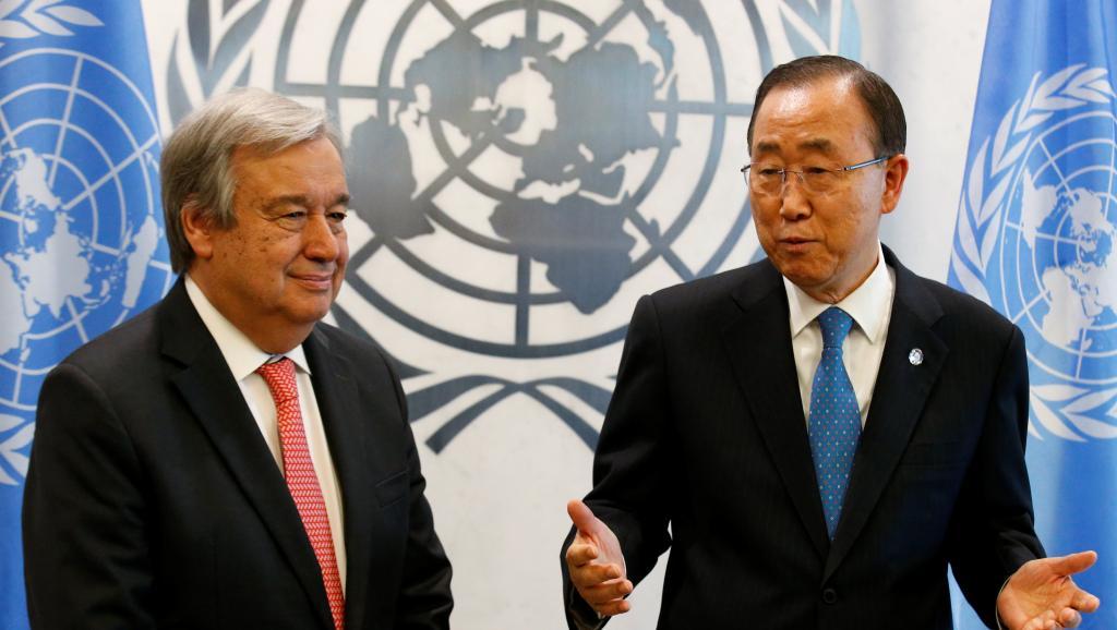 Antonio Guterres officiellement désigné à la tête des Nations unies