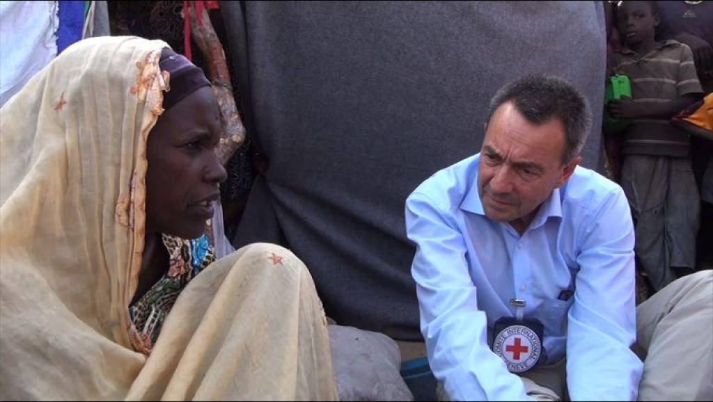 Niger: visite du chef du CICR dans le camp de réfugiés nigérians Garin Wanzam