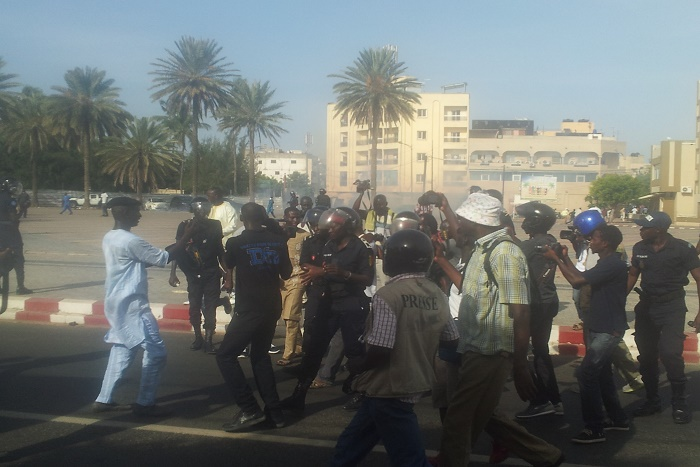 Manifestation du 14 octobre : la bande à Guy Marius Sagna libérée