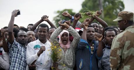 Poster sur Facebook devient un crime sous l'état d'urgence en Ethiopie: Le régime d'Addis-Abeba réprime dans la violence la révolte de l'ethnie Oromo