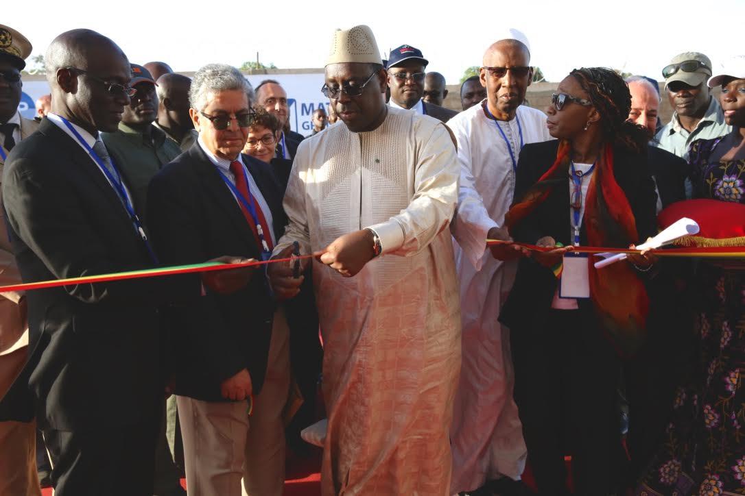 Inauguration de la centrale solaire de Bokhol: Macky Sall se félicite des progrès du Sénégal dans le secteur énergétique