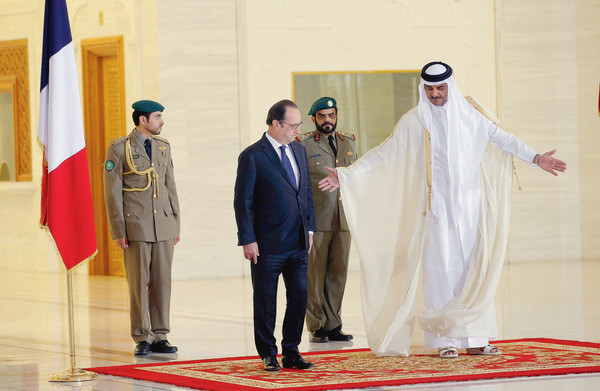 Selon le Qatar, les politiciens Français sont les plus faciles à acheter