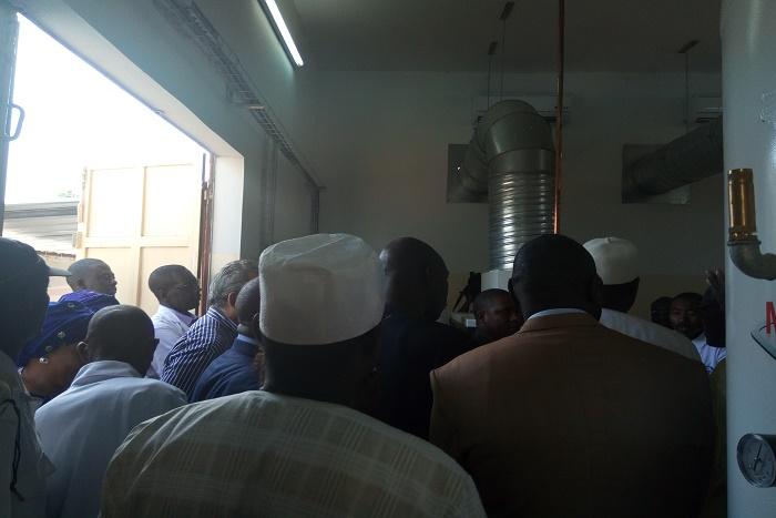 Inauguration de la centrale d'Oxygène Médical de l'hôpital Abass Ndao: Pas content, Khalifa Sall réclame des comptes