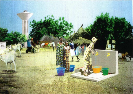 Darou Minnam : Sokhna Astou Boury Mbacké dote les habitants d'une borne fontaine
