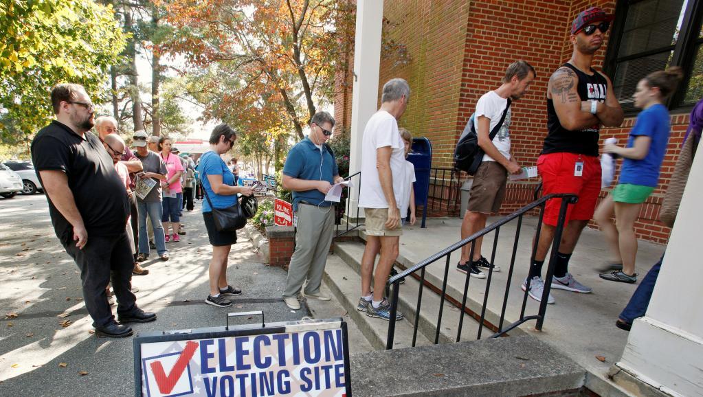 Etats-Unis: en Caroline du Nord, le vote pour la présidentielle a déjà commencé