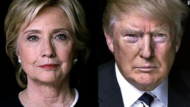 """Résultat de recherche d'images pour """"photos donald trump et hillary clinton"""""""