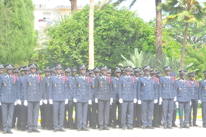 Présentation de drapeau à la 43ème promotion de l'ENP: La leçon du Commissaire Ousmane Guèye aux nouveaux policiers