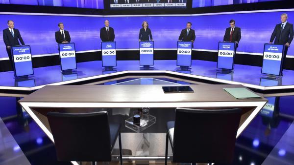 Primaire de droite à la présidentielle française: un dernier débat très confus