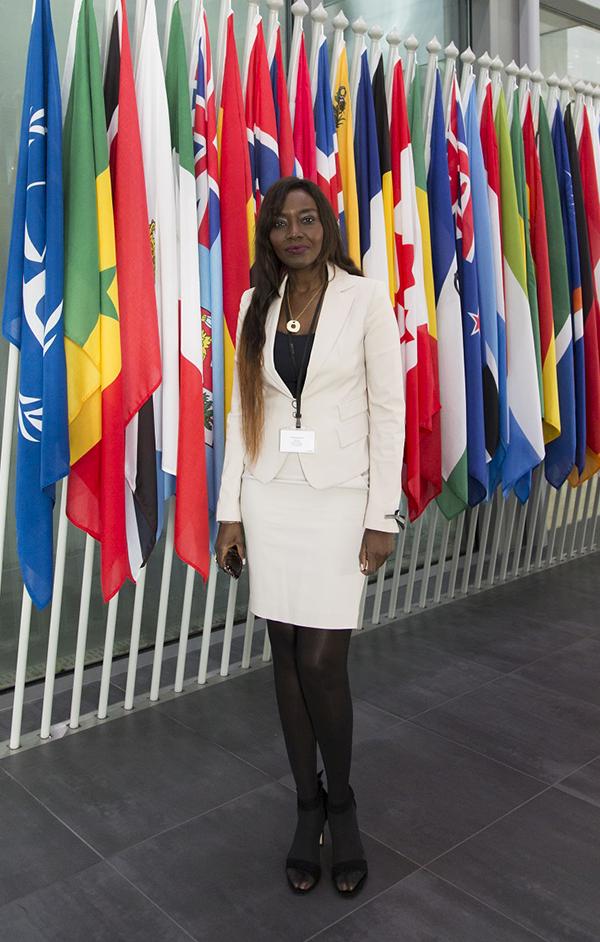Plaidoyer en faveur des enfants : La Diva Coumba Gawlo dans les coulisses de la CPI