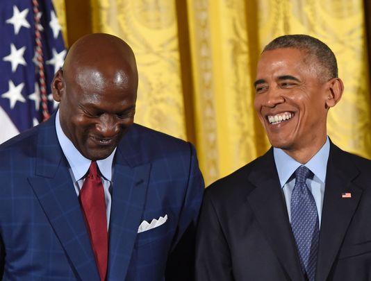 Quand Barack Obama fait pleurer Michael Jordan (Vidéo)