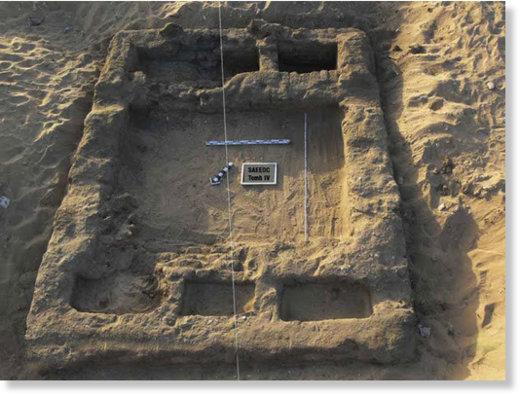 Une cité vieille de 7 000 ans et un cimetière antique découverts en Égypte