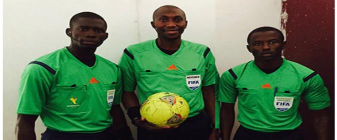 CAN 2017 au Gabon : Un trio d'arbitres sénégalais désigné