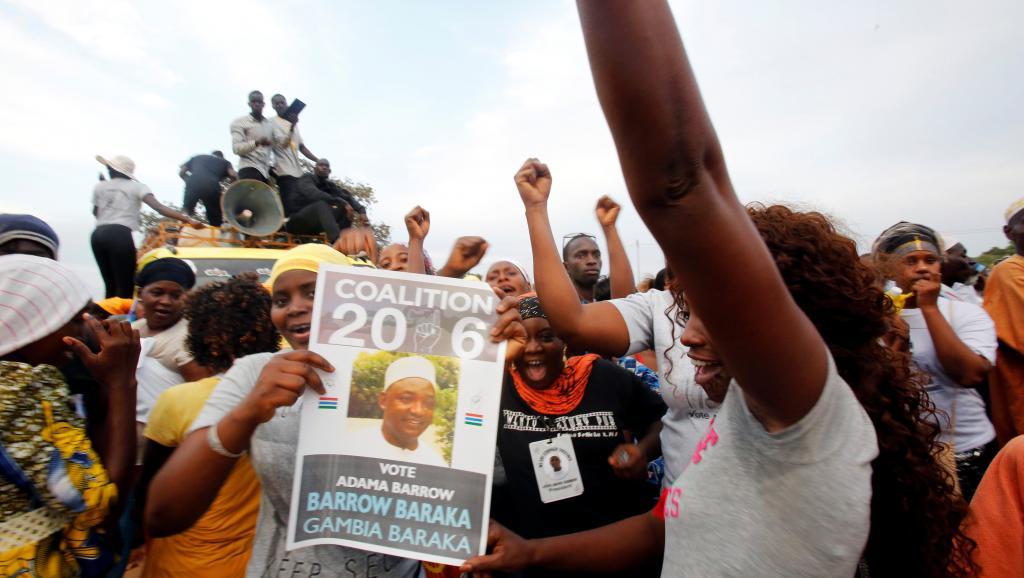 Jour de présidentielle en Gambie