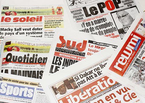 (Revue de presse du mercredi 1er décembre 2016) Pas de situation d'insécurité au Sénégal mais un sentiment d'insécurité