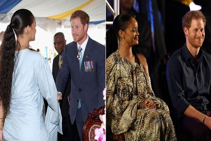 Le prince Harry avec Rihanna à la Barbade : un beau moment de complicité
