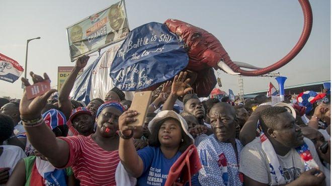 Les Ghanéens attendus aux urnes mercredi