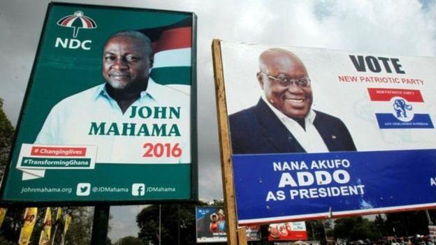 Les Ghanéens aux urnes