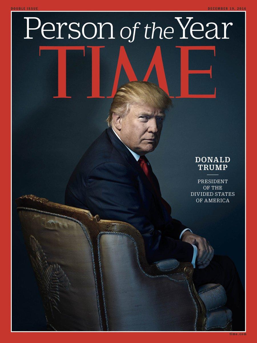 Donald Trump désigné «Personnalité de l'année» 2016 par le Time