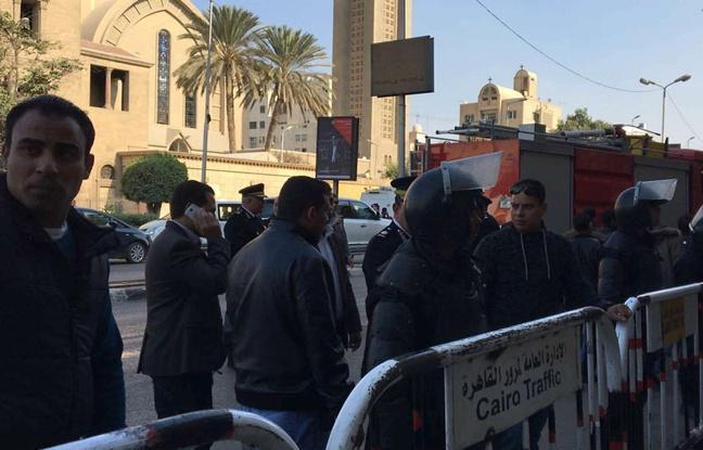 Egypte: Au moins 25 morts après une explosion dans une église du Caire