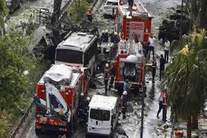 Turquie: au moins 13 soldats tués et 48 blessés dans l'attentat de Kayseri (armée turque)