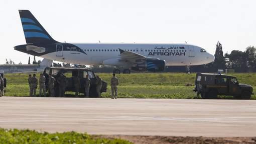 Détournement d'un avion libyen vers Malte, tous les passagers libérés