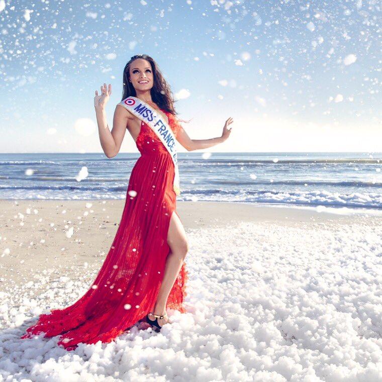 Accusé d'avoir blanchi une photo de Miss France 2017, le photographe de Paris Match répond