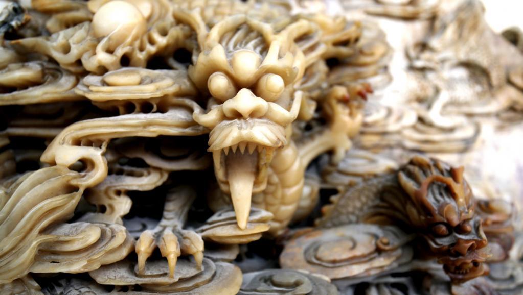 La Chine rompt avec le commerce et la transformation de l'ivoire