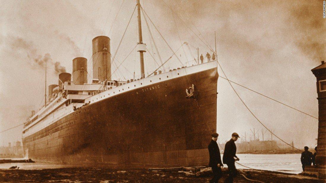 Un incendie à l'origine du naufrage du Titanic ?