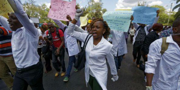 Kenya : les autorités menacent de licenciement les médecins en grève