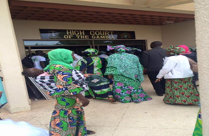 Gambie : les partisans Jammeh manifestent contre l'ingérence du Sénégal